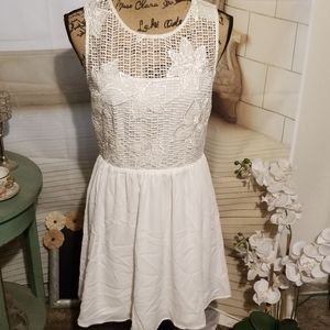 Alya White Dress Size M